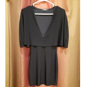 MISSGUIDED Cape Dress